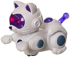 JUINSA- Gato Robot con luz y Sonido (96094.0)