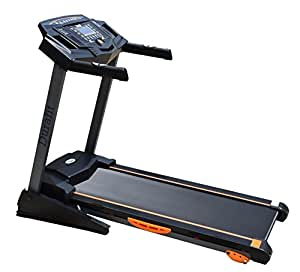 Durafit 001 Strong Motorized Foldable Treadmill (Black)