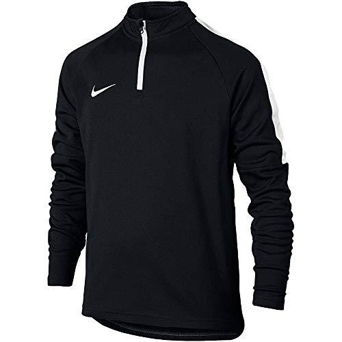 Nike Kinder 839358-010 Dry Akademy Dril Sweatshirt , schwarz (Black/White), XL - Rosa Sport-kinder Sweatshirt