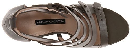 French Connection Nolinda Cuir Sandales Olive