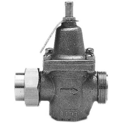 Watts et laiton tubulaire Lfn45bu M1–3/4 3/10,2 cm, capacité standard, sans plomb, Réducteur de pression de l'eau à membrane