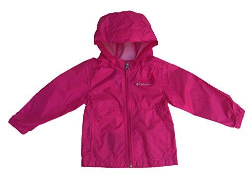 Columbia Little Kids Rain Jacket (4T, Haute Pink) (Jacke 4t Columbia)