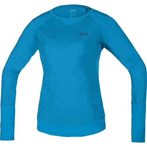 GORE Wear C5 Damen Langarm Fahrradtrikot, Größe: 40, Farbe: Blau