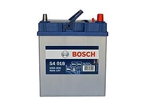 BOSCH Autobatterie, Starterbatterie, 0 092 S40 180 S4 180