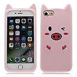 Coque pour iPhone 6S Plus / iPhone 6 Plus 5.5 '- Coque 3D Cute Silicone Design,...