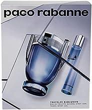 Paco Rabanne Invictus 2 Pc Travel Set EDT For Women, 3.4 Oz