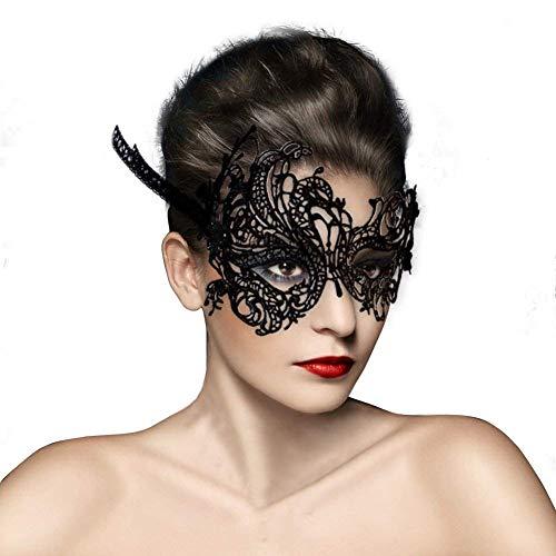 NaiCasy Frauen schnüren Maske Venedig-Maske Sexy Kostüm Maskerade Karneval Maske, Karneval von Venedig Phoenix Neuheit Schmuck
