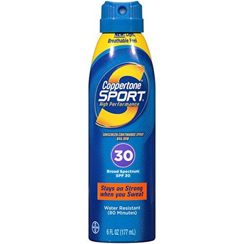 Coppertone Sport Sonnenschutz Continuous Spray, SPF 30, 6 Flüssigunzen (177 ml) -