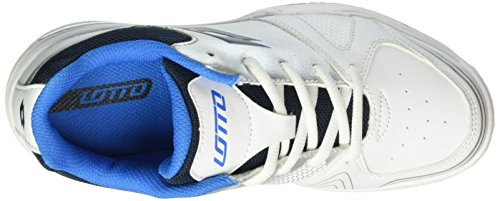 Lotto Unisex-Baby T-Strike Jr L Tennisschuhe Grau (SLV MT/BLU AVI)