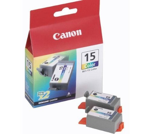 Inkjet-Patrone, für i70 / i80, Inhalt 2x7,5ml, 3-farbig (Inkjet-patrone Bci-3 Canon)