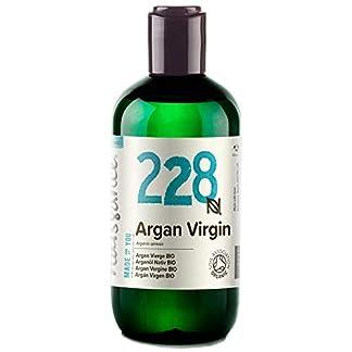 Naissance Aceite Vegetal de Argán de Marruecos BIO n. º 228-250ml – Puro, natural, vegano, certificado ecológico, sin hexano y no OGM – Hidratación natural para el cabello.