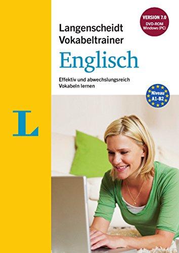 Langenscheidt Vokabeltrainer 7.0 Englisch - DVD-ROM: Effektiv und abwechslungsreich Vokabeln lernen,...