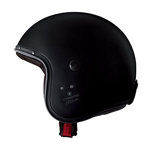 Caberg Jet Casco Freeride, color negro mate, tamaño M