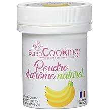 ScrapCooking Poudre d'Arôme Naturel Banane 15 g - Lot DE 2