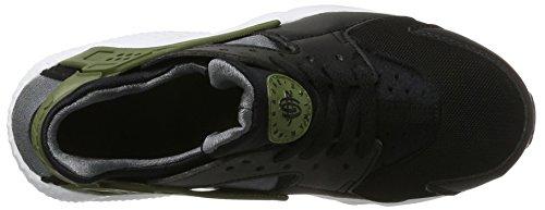 und Gs dark Jugendliche Black Mehrfarbig Kinder Huarache Green Sneakers Grey Run Nike white palm AqX5P4wn