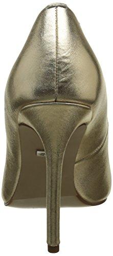 Buffalo London 15p53-5 Mercure Leather, Scarpe con Tacco Donna Oro (GOLD 24)