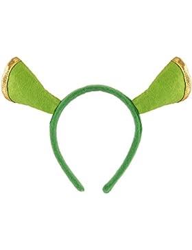 Islander Fashions Unisex Adulto Green Ogre Ears Fascia per bambini ST Patricks Day Fancy Accessory Taglia unica