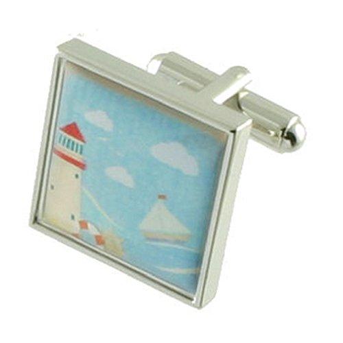 Collegamenti del bracciale light house immagine cartolina gemelli selezionare borsa regalo