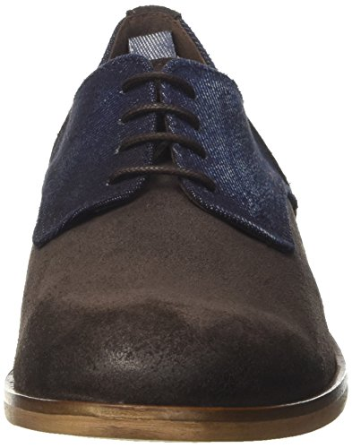 TRUSSARDI JEANS by Trussardi 77s55353, chaussures à lacets homme Marrone (Dk Brown)