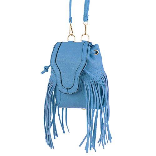 Ital-DesignRucksäck bei Ital-Design - Zaino Donna Blu (blu) Visita Aclaramiento kVLtF