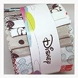 Micky Maus 20Stück Jelly Roll–Mickey Mouse Stoff Quilting Patchwork Jelly Roll Bundle–Pink Weiß Blau Grau–von Camelot–Bundle 20Stück (2von jedem Design) je 6cm x 110cm (6,3x 111,8cm ca.)