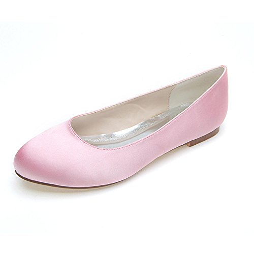satin comodo primavera scarpe scarpe appartamento Donne estate p8wHqZc