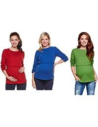 Be! Mama - 2in1 Umstandspullover, Sweatshirt, Still-Pulli, Modell: LUGO
