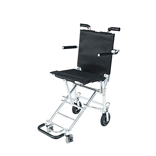 Dwhui carrello girevole a 4 ruote carrello pieghevole per gli anziani a piedi sedile per acquistare cibo per contribuire a spingere il carrello piccolo shopping