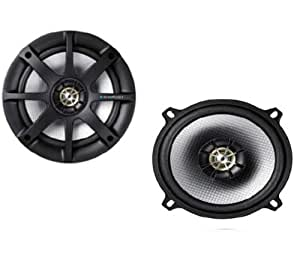 Blaupunkt - GTx 402 SC - 4 Inch 2-Way Coaxial Speaker (140 W) [Pair of Speakers]