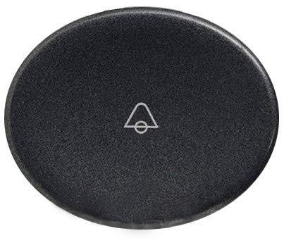 Niessen tacto - Tecla pulsador con simbolo timbre tacto antracita