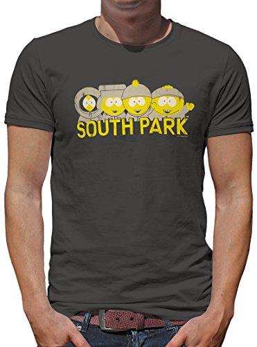 TLM South Park - Lined up T-Shirt Herren XS Dunkelgrau