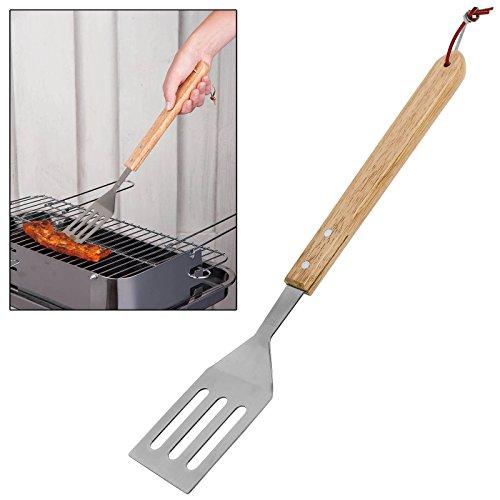 CostMad BBQ Barbecue Grill Grill Lebensmittel Edelstahl Spatel Burger Fleisch Gemüse Turner Flipper Küche Kochen anrichtgabel Werkzeug -