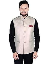 Gadgets Appliances Cotton Silk Nehru Jacket for Men