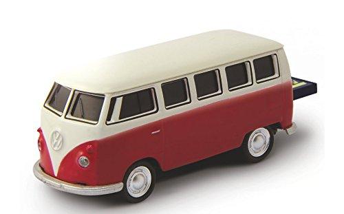 AutoDrive, USB 2 Flash Drive, VW Bus, 16 GB, rot
