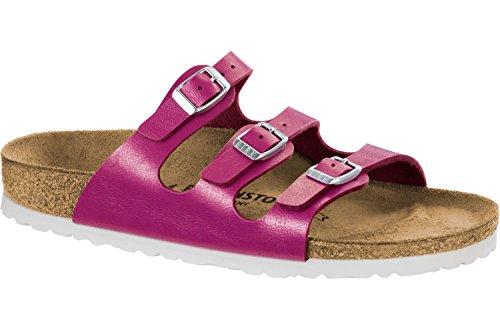 BIRKENSTOCK Damen Pantoletten Florida BF 1008855 Pink 399471 (Sandalen Große Füße)