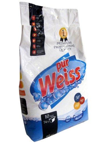 Waschpulver pur Weiss professional 10kg-Sack Vollwaschmittel