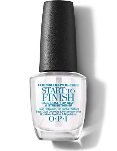 OPI Start To Finish F.F.F. - Base Protectrice/Top Coat/Fortifiant Traitement 3 en 1 - 15...