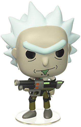 Funko- Vinyl: Rick & Morty: Weaponized Rick (12439)