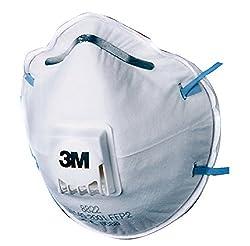 3M 10PCS FFP2S Ende Staub Maske 8822ammonie Ventil mit Schutz Anti Staub maske ammonie von Schutz Maske