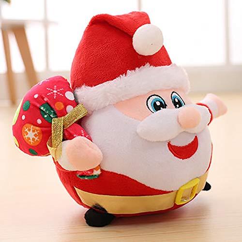 MMD Regalo di Natale degli Accessori della casa di Ragdoll del Babbo Natale del Giocattolo Adorabile della Peluche (Dimensioni : 20cm)