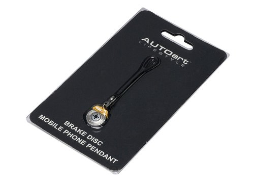 Frein AUTOartDESIGN t?l?phone pendentif disque mobile (?trier jaune) (japan import)