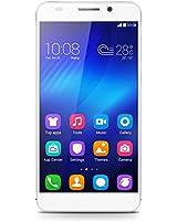 Honor 6 Smartphone (5 Zoll, Touchscreen, Octa-Core, 3GB RAM, 16GB ROM, 13MP Hauptkamera, 5MP Frontkamera, LTE CAT6, Android 4.4, EmotionUI 2.3) weiß