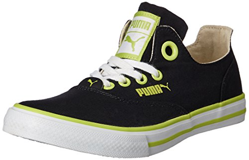 Puma Men's Limnos CAT 2 DP Black-Lime Punch-White Mesh Running Shoes - 4 UK/India (37 EU)  available at amazon for Rs.1379