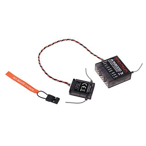 sharprepublic AR8000 8 Canales Receptor De Aeronaves DSMX De 8 Canales  Compatible JR, Spektrum DX6I