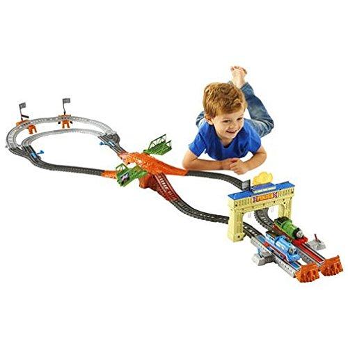 Thomas et ses Amis Estuche la gran carrera, multicolor (Mattel DFM53)