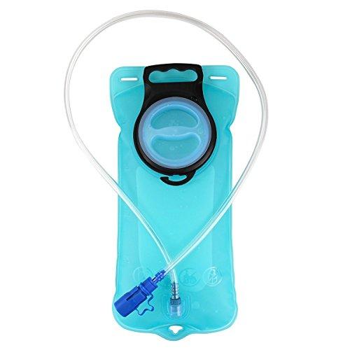 Romote 2 Liter Wasser Hydratation-Blasen für Radfahren Wandern Camping Rucksack Verhindert, Dass Undichte (Wasser Hydratation Blase)