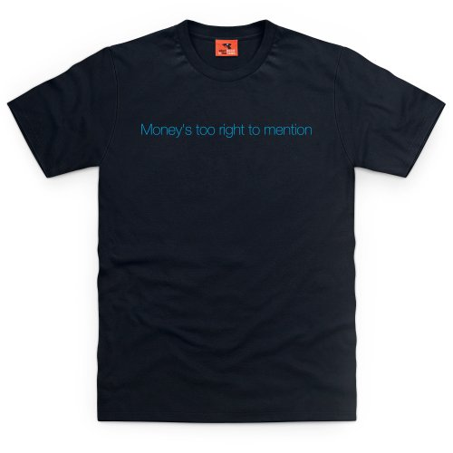 Square Mile Too Right T-Shirt, Herren Schwarz
