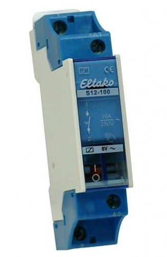 Preisvergleich Produktbild Eltako R12-100-12V Elektromechanische Schaltrelais