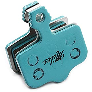 Miles Racing ® Fahrrad MTB Scheibenbremsbeläge - semi metallisch für Avid Elixir 1 3 5 7 9 DB R XX X0 XX WC   Sram Level