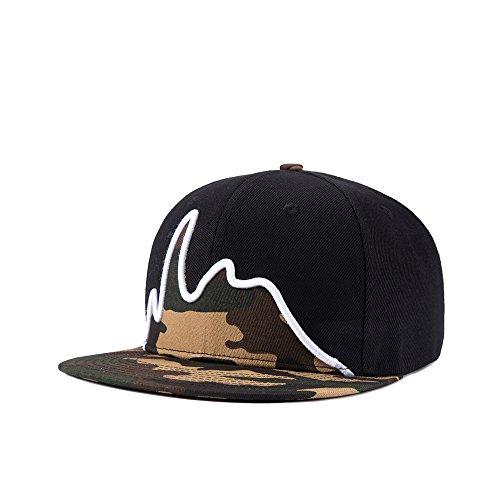 JEDAGX Casual Baseball Cap Snapback Hiphop Hut Junge Mode verstellbare Cap Unisex (Mode Snapback Für Herren)